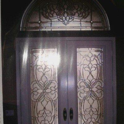 Iron Doors w/ Sidelite