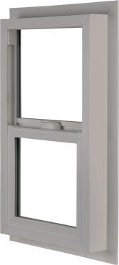 Clay Vista Single Hung Vinyl Window