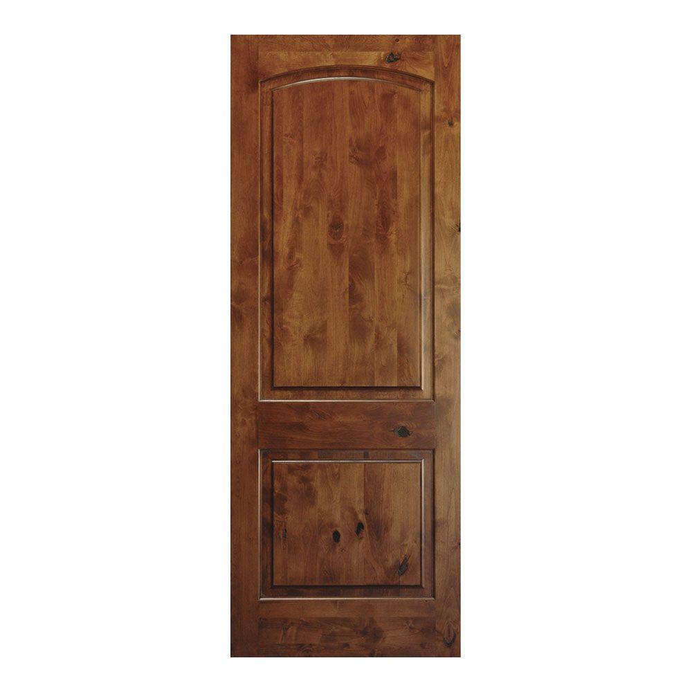 Alder doors photo 12 of 13 rustic knotty alder 5 panel for Knotty alder wood doors
