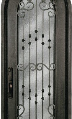 Great SR816WHX 33 Steel 8u2032 Single Exterior Iron Entry Door