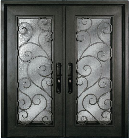 S516shxx 54 steel 64 x 81 double exterior iron entry for 72 x 80 exterior door