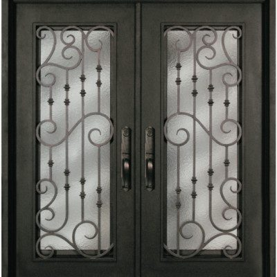 s516whxx 54 steel 64 x 81 double exterior iron entry doors
