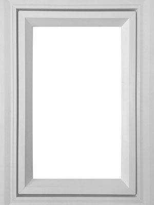 White Vista Casement Retrofit Frame Vinyl Window